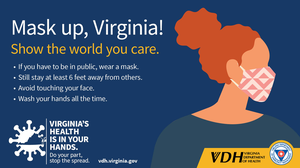 Mask up, Virginia!