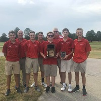 LHS Golf Team wins Region A Championship